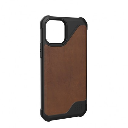 UAG Metropolis Cover, iPhone 12/12 Pro, Leather, Brown