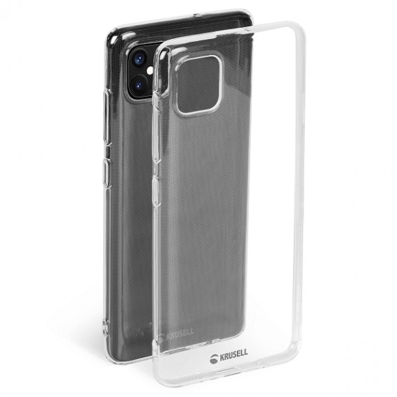 Krusell iPhone 12/12 Pro SoftCover, Transparent