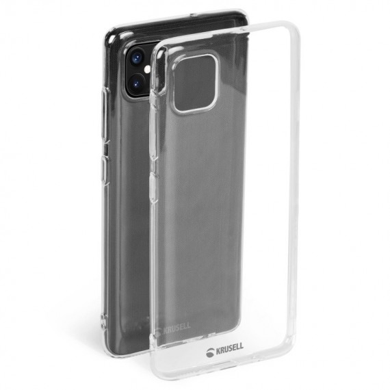 Krusell iPhone 12 Mini SoftCover, Transparent