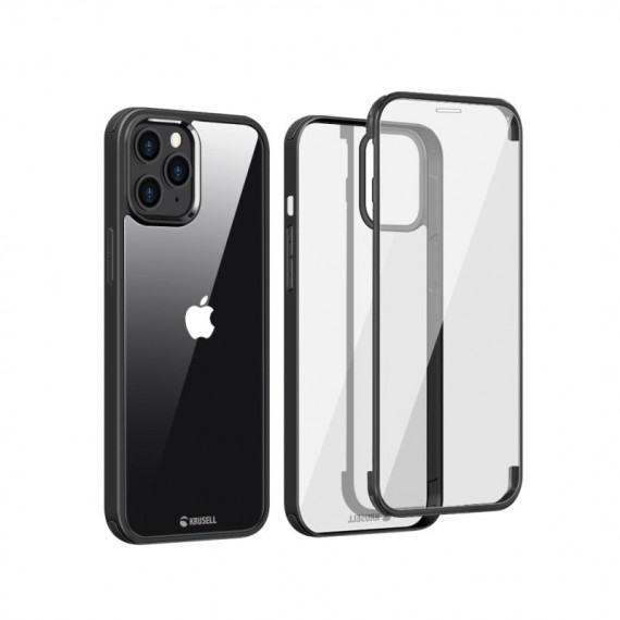 Krusell iPhone 12 Mini 360 Protective Cover, Black