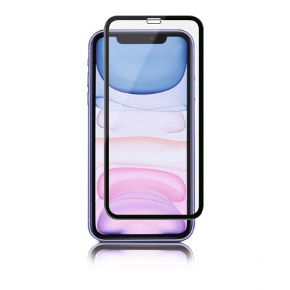 Panzer iPhone XR/11, Full-Fit Silicate Glass, Black