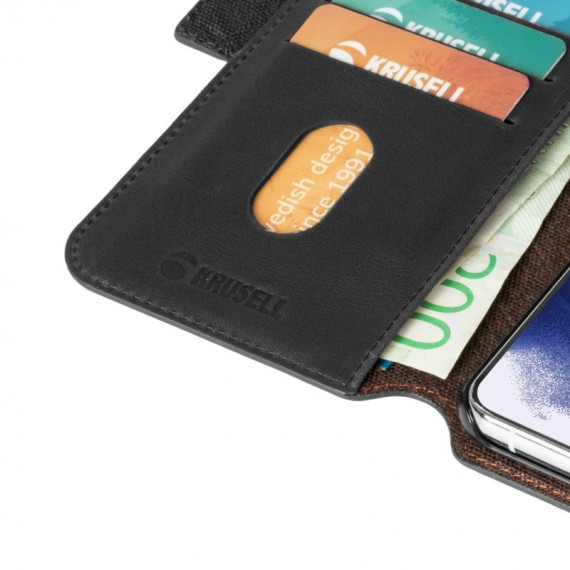 Krusell Samsung Galaxy S21 Ultra Phone Wallet Leather